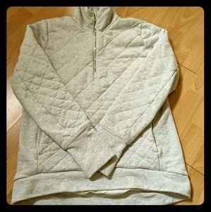 Lululemon Half Zip Quilted Sweatshirt
